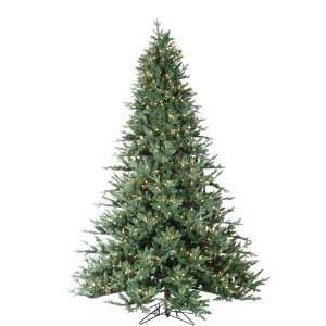 Cut Layered Maine Spruce Artificial Christmas Tree   Clear Home