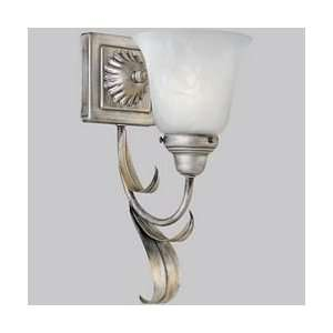 Silver Cameron Tropical / Safari Reversible Wall Sconce from the Ca