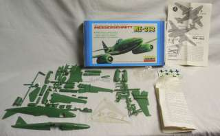 LINDBERG MESSERSCHMITT JET WWII AIRCRAFT KIT BOXED