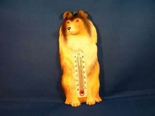 NEW Indoor/Outdoor Thermometer with Sheltie dog lover
