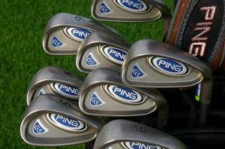 Mens Ping All Graphite Regular Flex G10 Complete Set Irons Driver