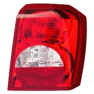 Dodge Caliber 08 Tail Light Tail Lamp Driver Side Lh