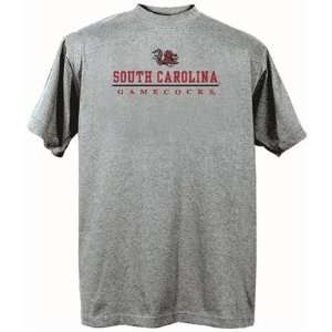 South Carolina Gamecocks USC NCAA Dark Ash Short Sleeve T