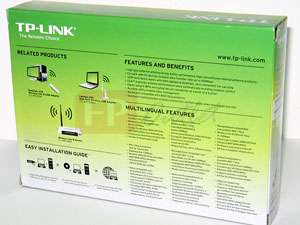 TP Link TL WN722NC High Gain 802.11n Wireless USB Adapter with