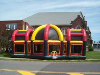 Arena Basketball Football Bounce House Jumper Play House cls