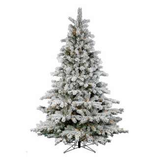 Trim A Home 6 Ft. Lighted Brilliant Tree, Clear Christmas Trees from