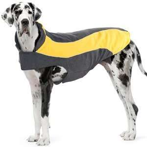 Kakadu Pet Explorer Fleece Reflective Dog Coat, 30, Sun