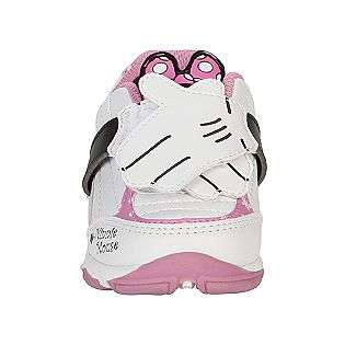 Girl Minnie   White/Pink  Disney Shoes Kids Newborns & Infants