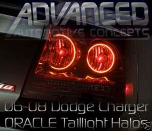 Dodge Charger Tail Lights HALO Angel/Demon Eye not LED