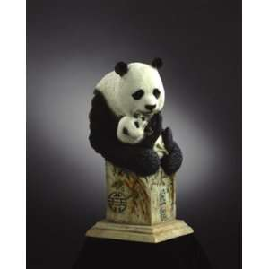 Mill Creek Studios   Bear Cats   3851   Panda Bear Figurine