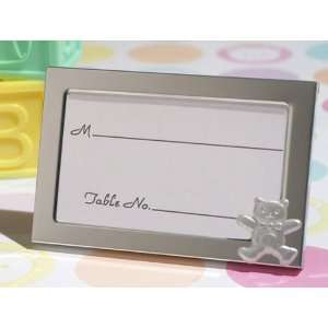 Wedding Favors Cute and Cuddly teddy bear Place card frame