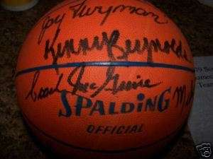 1979 South Carolina Gamecocks Team Signed Basketball Frank McGuire USC