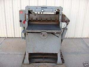 Challenge HB 265 Paper Cutter Industrial Heavy Duty