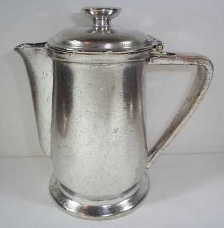 Grace Steamship Line   1954   Art Deco Silver Coffee Pot