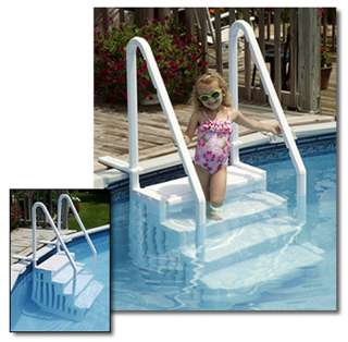 Ground Easy Entry Pool Step Swimming Pool Durable  Up to 54