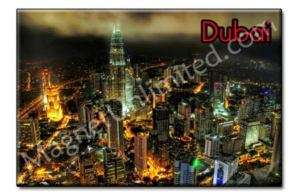 DUBAI United Arab Emirates Souvenir Fridge Magnet