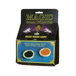 Magic Poker Chips   Clsoe Up / Street / Magic Tric Toys