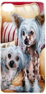 Chinese Crested IPHONE CASE COVER dog art original painting