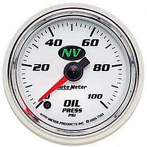 Meter 7353 NV 2 1/16 0 100 PSI Full Sweep Electric Oil Pressure Gauge