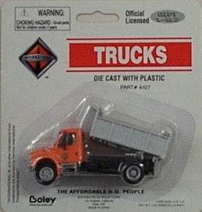 HO 1/87 Die Cast International 4300 Low Bed Dump Truck 41076