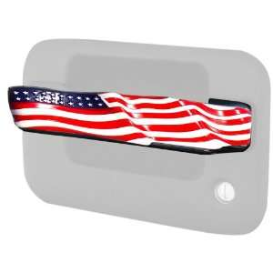 Putco 477001 American Flag Style Chrome Trim Door Handles (Center Only