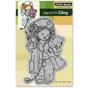Penny Black Cling Rubber Stamp 4X6 Wishing You Well
