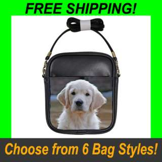 Golden Retriever Dog   Sling, Tote & Recycle Bags (6 Styles)   RT1348