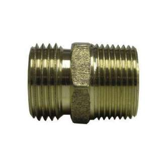 Watts 3/4 in. Brass MPT x MHT Hose Adapter A 665