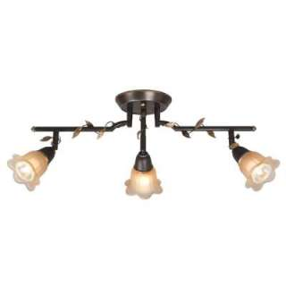 Hampton Bay 3 Light 24 in. Bronze Track Lighting Fixture 002 57123BSG