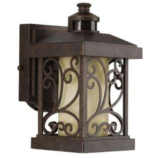 Progress Lighting Cypress Collection Forged Bronze 1 light Motion