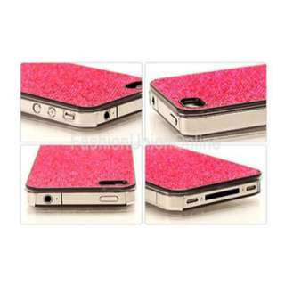glitter sparkel bling case cover black for iphone 4 4g