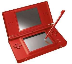 Nintendo DS Lite Super Mario Bros. Limited Edition Red Handheld System