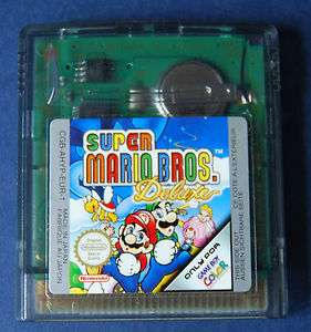 SUPER MARIO BROS DELUXE JEU GAME BOY COLOR TBE