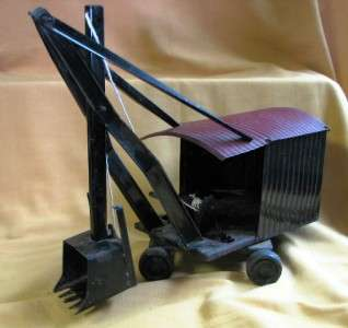 ANTIQUE MARION STEAM SHOVEL TRUCK STEELCRAFT TOY RARE