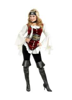 Deluxe Pirate Lady Womens Costume Womens Pirate Costumes at Wholesale