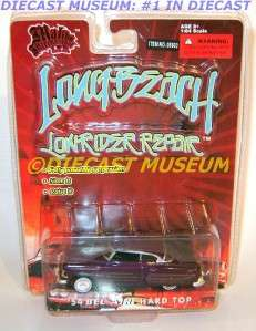 BEL AIR HARD TOP LONG BEACH LOWRIDER REPAIR DIECAST JESSE JAMES