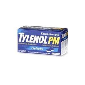 Tylenol Extra Strength Pm Geltabs, Extra Strength Pain