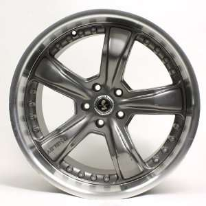 American Racing Shelby Gunmetal Razor Wheel 20