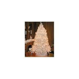 Crystal White Medium Artificial Christmas Tree   Cl