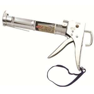 AJ200126 Heavy Duty Chrome Caulking Gun, 9 Inch
