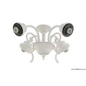 Carlo Lighting Four Light Ceiling Fan Light Kit