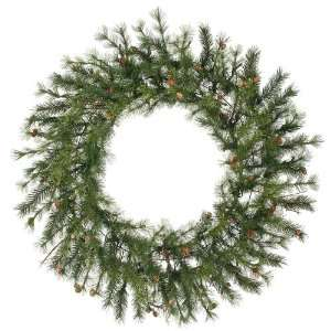 Mixed Country Pine Artificial Christmas Wreath   Unlit