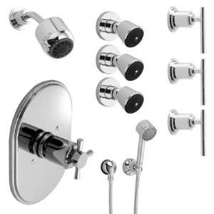 Kit 05 Finish Polished Chrome, Handle Type Lever