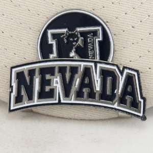 Nevada Wolf Pack Hat Clip w/Magnetic Ball Marker