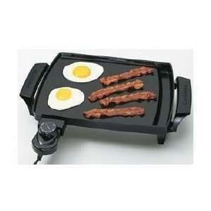 Griddle Mini Griddle Heavy Cast Aluminum Base Stick Free Cooking