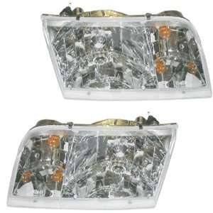 98 2011 Ford Crown Victoria Headlights Headlamps Head Lights Lamps