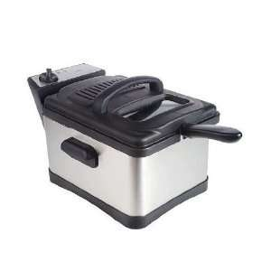 Deni 4.5qt Stainless Steel Non Stick Deep Fryer