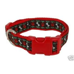 Douglas Paquette Nylon Dog Collar HOLLYWOOF 1x18 26