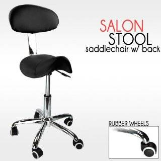 Black Stool Doctor Dentist Salon Equipment All Purpose Chair New