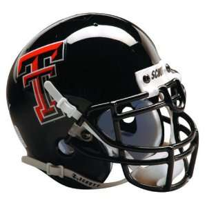 TEXAS TECH RED RAIDERS OFFICIAL FULL SIZE SCHUTT FOOTBALL HELMET
